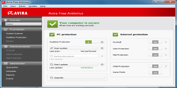 AVIRA Home Edition free