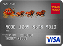 Wells Fargo Cash Back College Visa card