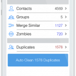 Tuneup Contacts screenshot