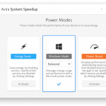 avira system speed dashboard 2018
