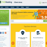 TMDHosting client area