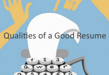 Qualities of a Good Resume