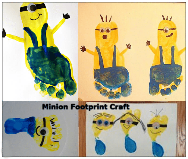 Minion Footprint Craft