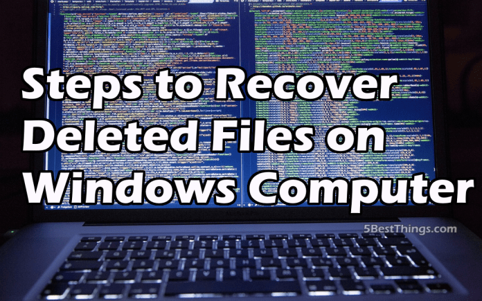 Recover Deleted Files on Windows