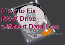 How to Fix RAW Drive without Data Loss
