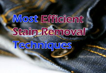 Stain Removal Techniques