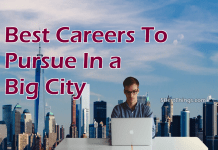 Best careers to pursue in a big city