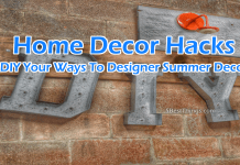 DIY HOME Decor Hacks