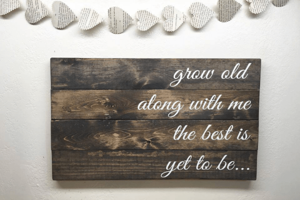 Wooden Pallet Sign Home Decor Hacks