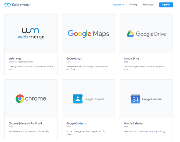 Salesmate Google apps integration