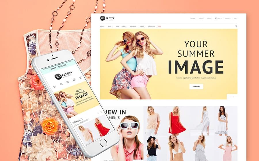 Impresta - Fashion PrestaShop Theme