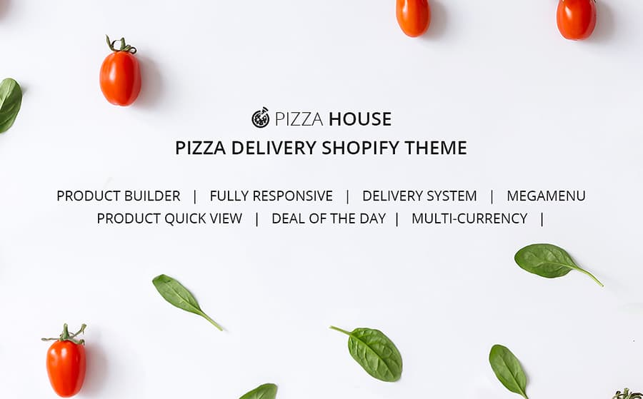 Food Delivery Responsive Shopify Theme