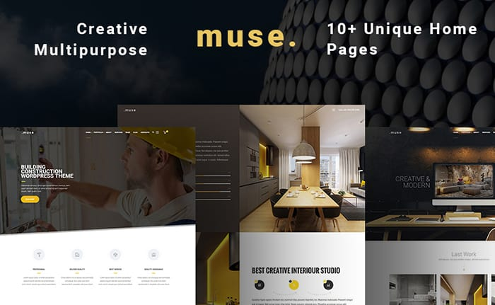 Muse - Multipurpose Building WordPress Theme