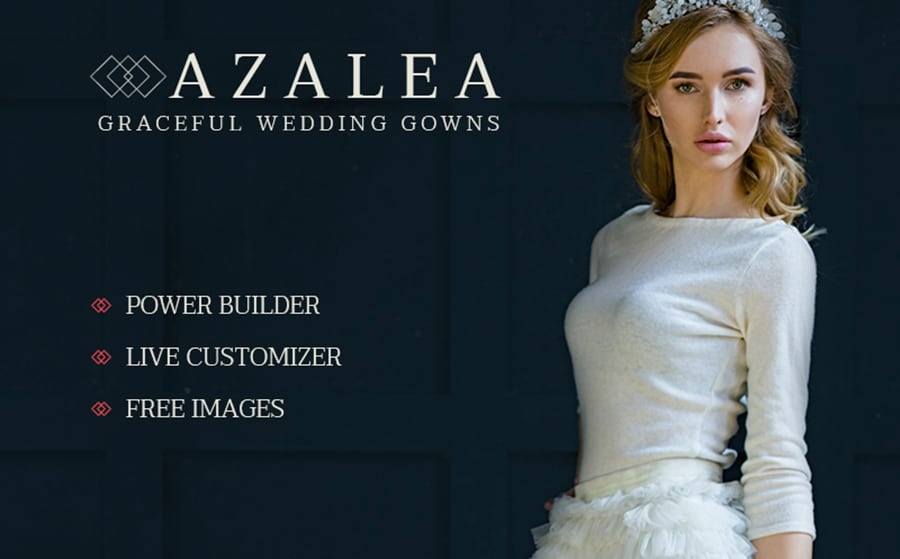 Azalea - Wedding Store WooCommerce Theme