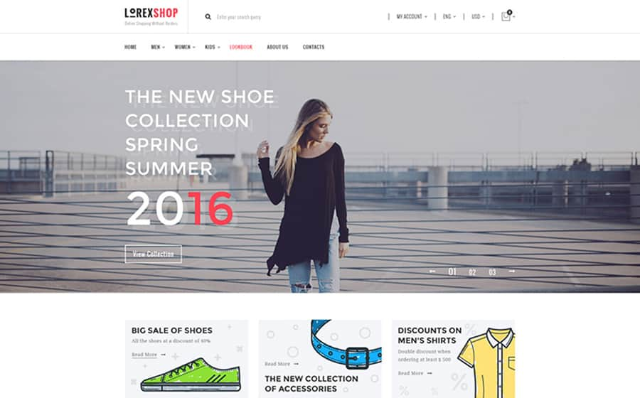 LOREX Fashion WooCommerce Theme