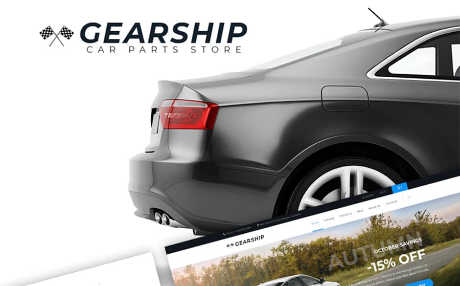 GearShip - Car Parts Store WooCommerce Theme