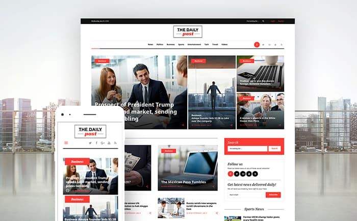 News WordPress Theme