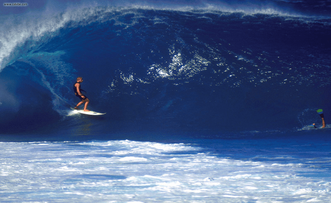Hawaiian Islands Surfer