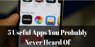 Useful Apps You Have Probably Never Heard Of