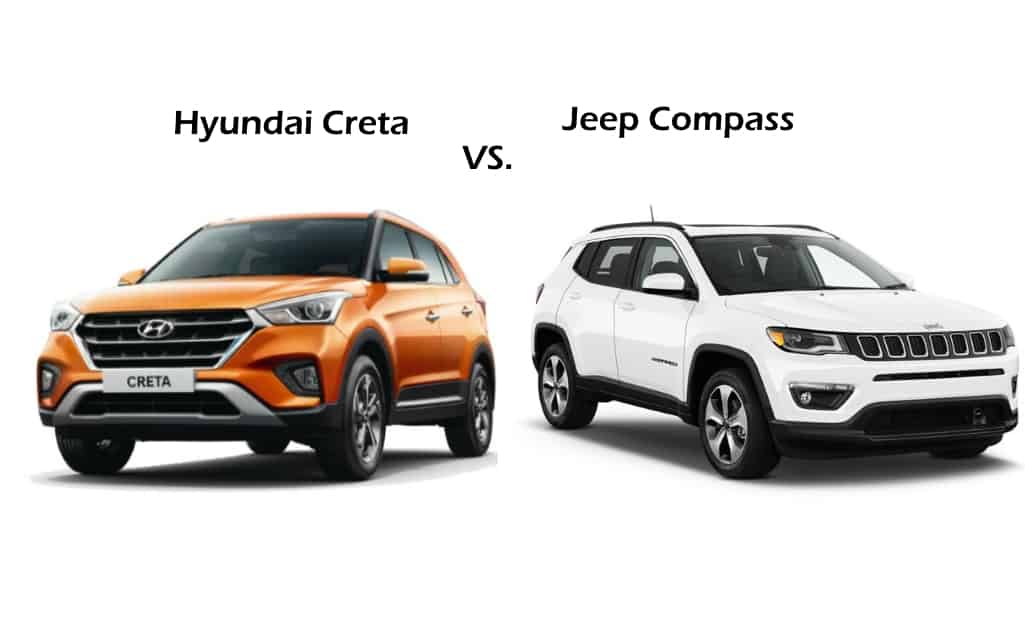 Jeep Compass and Hyundai Creta