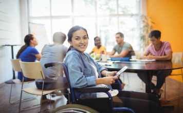 find a suitable job for wheelchair users