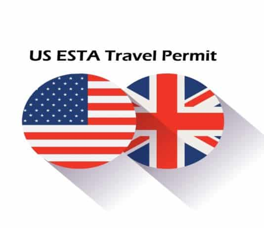 US ESTA Travel Permit