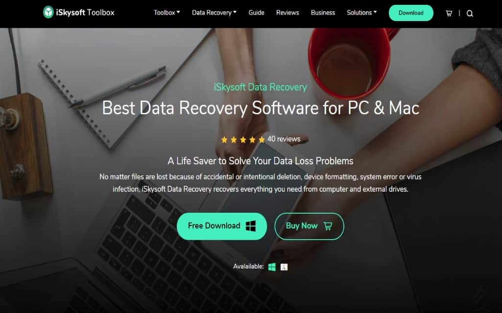 iSkysoft-Data-Recovery-Software