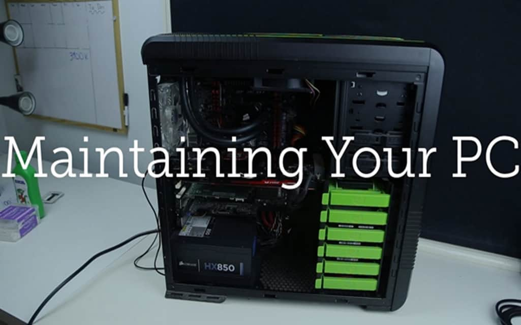 Maintaining Your Computer