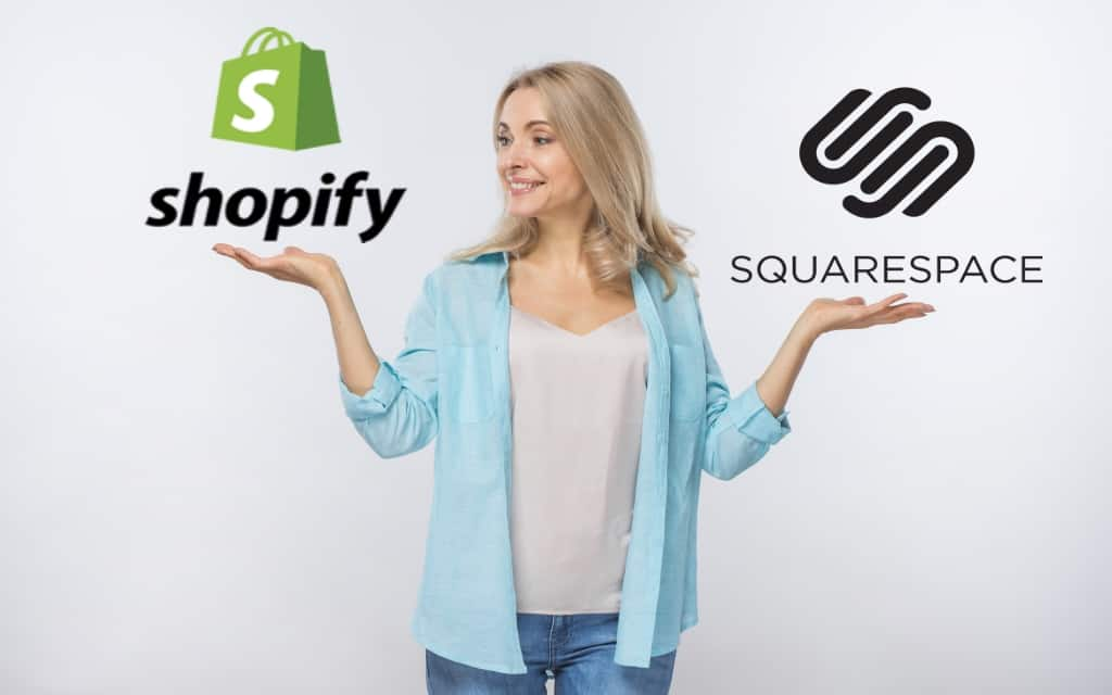 Shopify And Squarespace