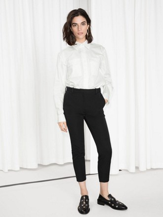 Blouse with Tailored Pants