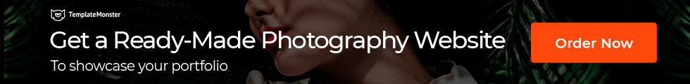 Ready-made photography website