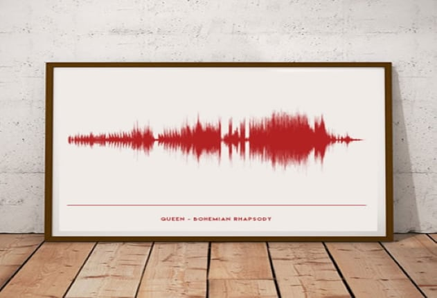 Song Soundwave Print