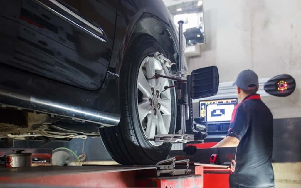 Wheel Alignment and Tyre Balancing