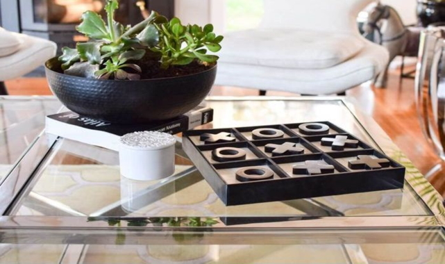 Style the coffee table