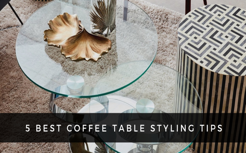 Ways to Style your Coffee Table