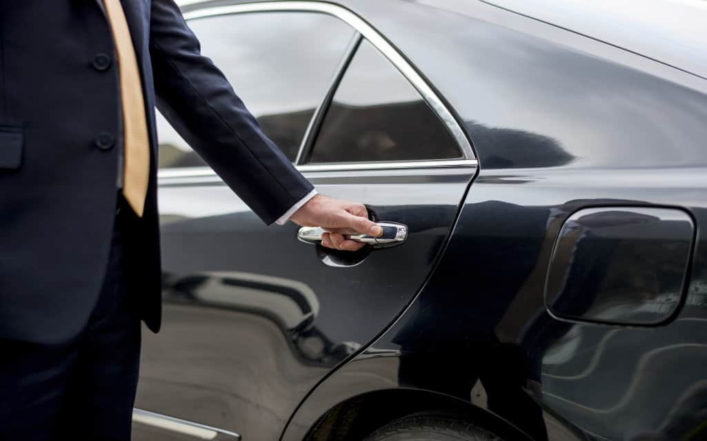 luxury chauffeur service in London