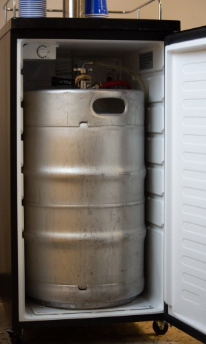 Kegerator Keeps Beer Cold For You