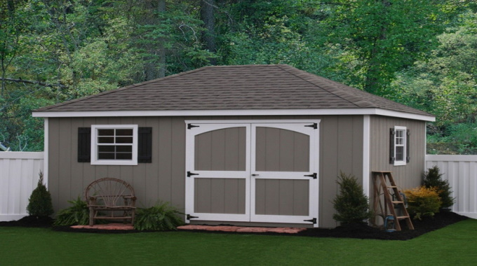 Best Hip Roof Style Shed Plans