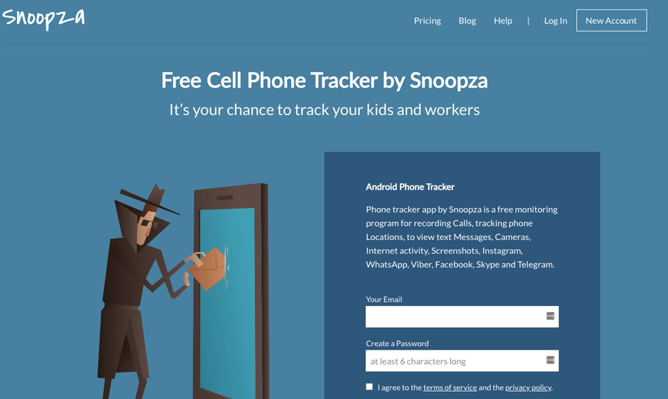 Phone Tracker Snoopza